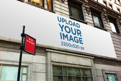 Billboard Mockup Featuring a Classic Building 2881-el1