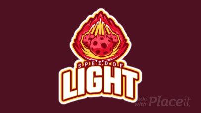 Logo Creator Featuring Animated Flaming Meteors 1745p-2964