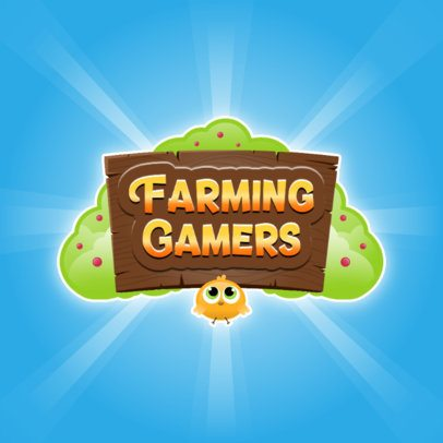 Mobile Gaming Logo Maker with a Farming and Gardening Theme 3007