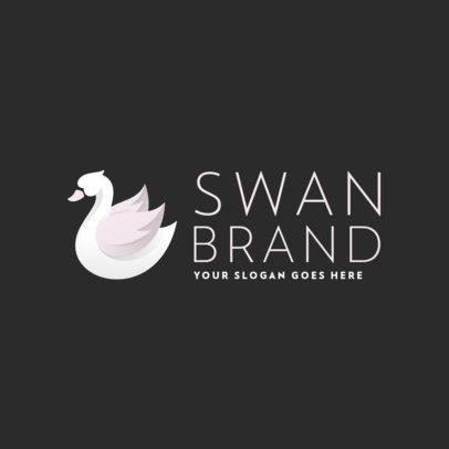Logo Generator with an Elegant Swan Graphic 356c-el1
