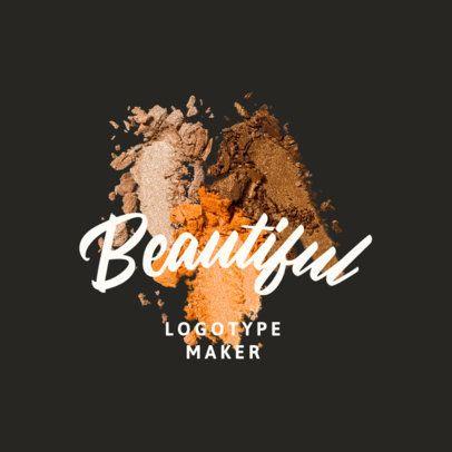 Elegant Logo Maker for a Makeup Brand 3009d