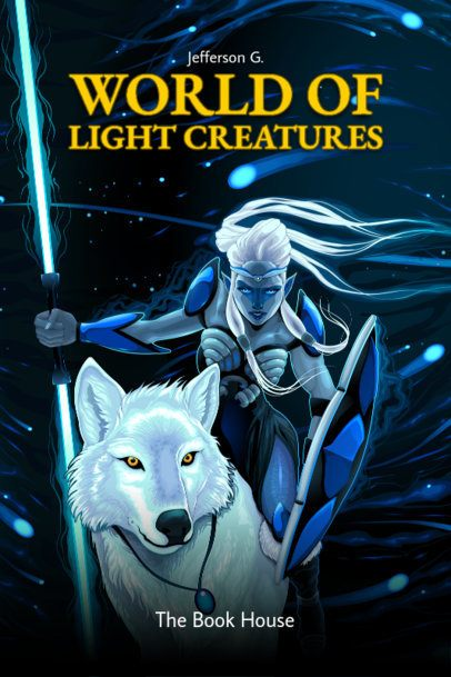 Book Cover Template for a Fantasy Novel 499-el1