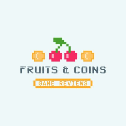 Logo Maker for a Retro Video Game with Pixel Graphics 3063b