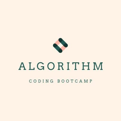 Abstract Logo Creator for a Coding Bootcamp 3078a
