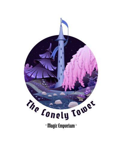 Fantasy T-Shirt Design Maker Featuring a Tower Clipart 688a-el1