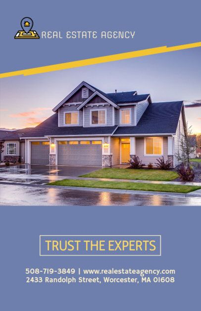 Flyer Maker for Real Estate with Images of Family Houses 253d