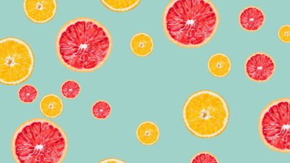 Free Zoom Background Design Template with Citrus Graphics 2433