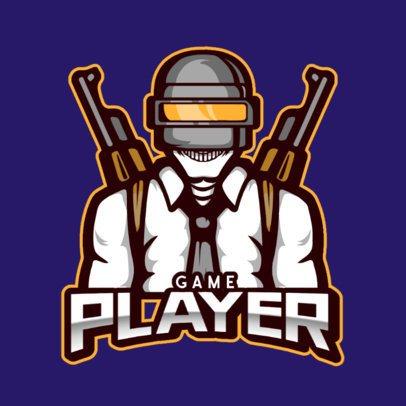 Team Logo Maker Featuring a PUBG-Inspired Shooter 800f-el1