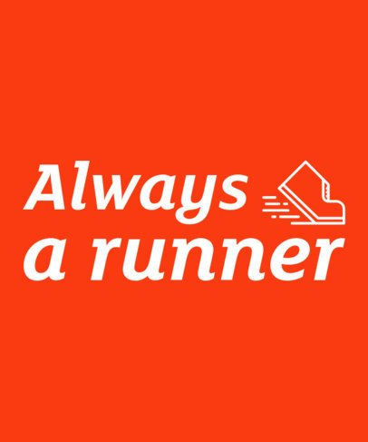 T-Shirt Design Maker for Runners 27c