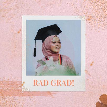 Minimal Instagram Post Design Maker for Graduation Day 2431q