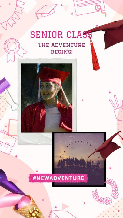 Instagram Story Maker for a Senior Class 2430w