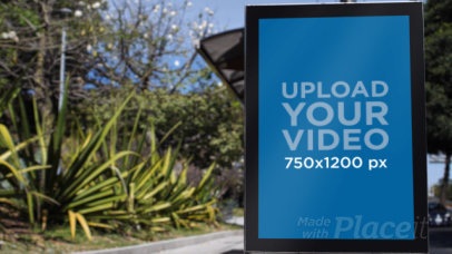 Video of a MUPI Placed by an Urban Plant 32957
