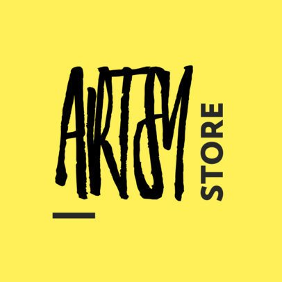 Logo Maker for a Store Featuring an Artsy Typeface 3149d