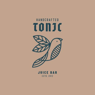Logo Template for an Organic-Only Juice Bar 3171a