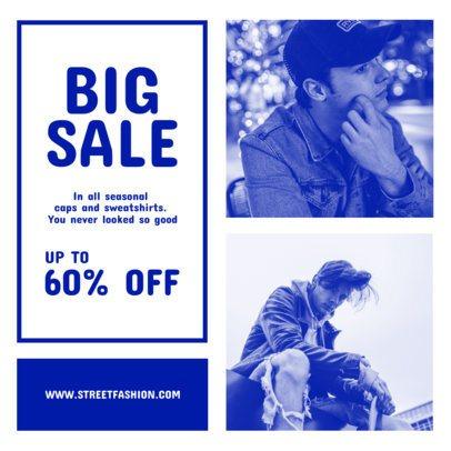 Instagram Post Template for Menswear Stores 969-el1