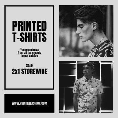 Instagram Story Template for a Men's T-Shirt Sale 969b-el1
