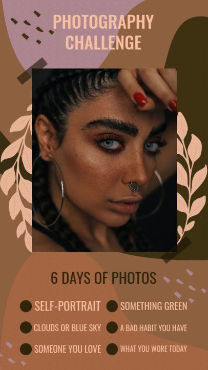 Instagram Story Template for a Photography-Related Challenge 2476c