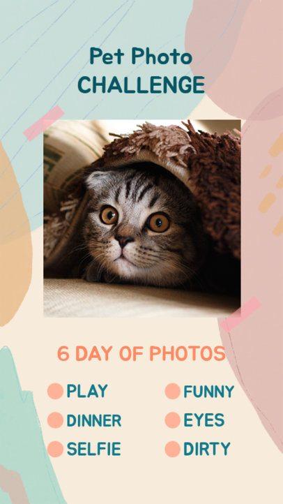 Instagram Story Maker for a Pet Photo Challenge 2476k