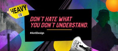 Bold Facebook Cover Maker With a Colorful Background and a Quote 2468f