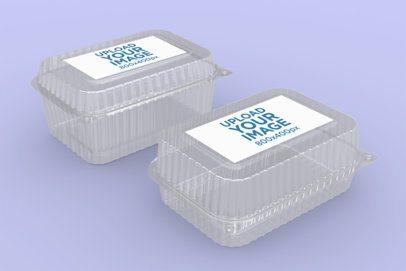 Mockup of Two Food Boxes 4023-el1