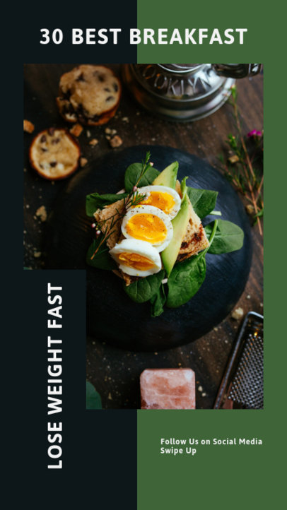 Instagram Story Creator for Weight Loss Tips 1137b-el1