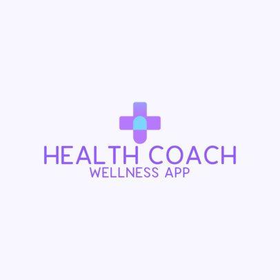 Medical Logo Maker for a Health Coach 3211a