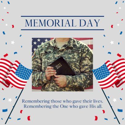 Memorial Day-Themed Instagram Post Generator 2485b