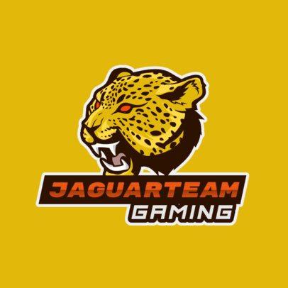 Logo Creator with a Wild Jaguar Graphic 1217d-el1