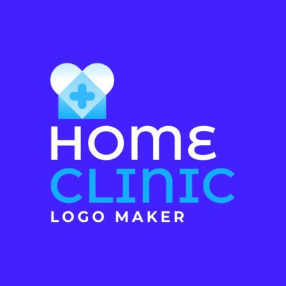 Logo Maker for a Home Clinic 3212a