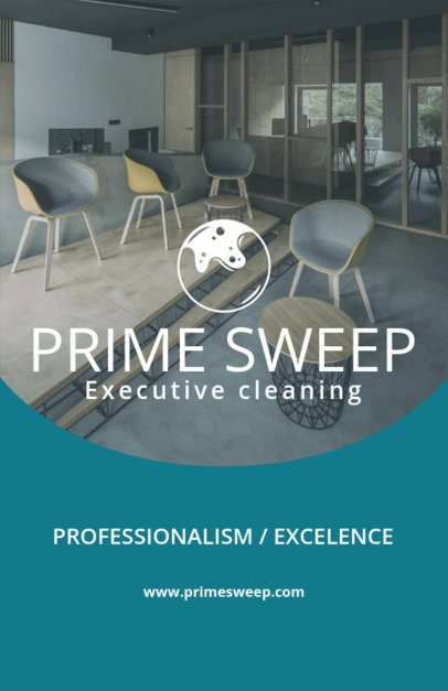 Online Flyer Creator for an Executive Cleaning Company 271e
