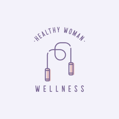 Logo Maker for a Wellness Center Featuring a Rope Graphic 1310d-el1