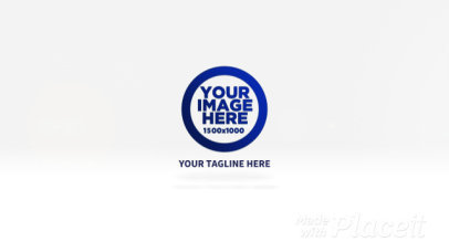 Simple Intro Maker for a Logo Reveal Featuring a Lens Flare Effect 914-el1