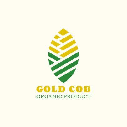 Logo Creator for Organic Cob with a Minimalist Icon 1595e-el1