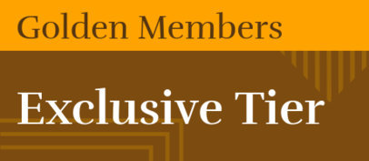 Patreon Tier Design Template for Golden Members 2581h