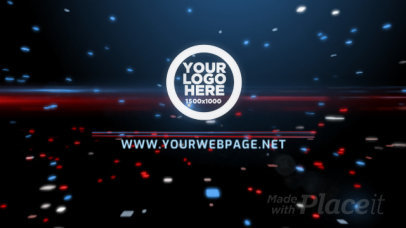 Intro Maker for a Logo Reveal with New Tech-Looking Animations 990-el1