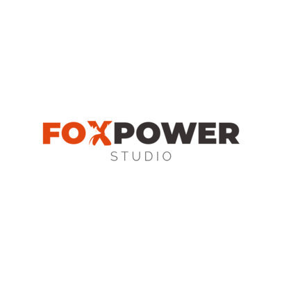 Logo Maker with a Special Character Featuring a Fox 3340i