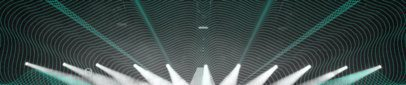 Soundcloud Banner Maker Featuring Concert Lights and a Wavy Pattern 2596k
