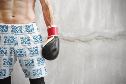 Shorts Mockup Featuring a Male Boxer 36963-r-el2