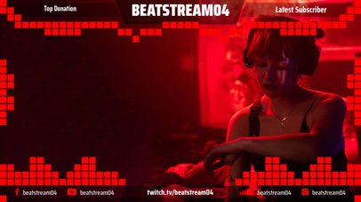 Twitch Overlay Maker for an Emerging Musician 2679f
