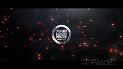 Intro Maker Featuring a Flame for a Cinematic Logo Reveal 654-el1