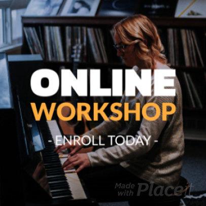 Instagram Video Generator for a Music Online Workshop 936e-2126
