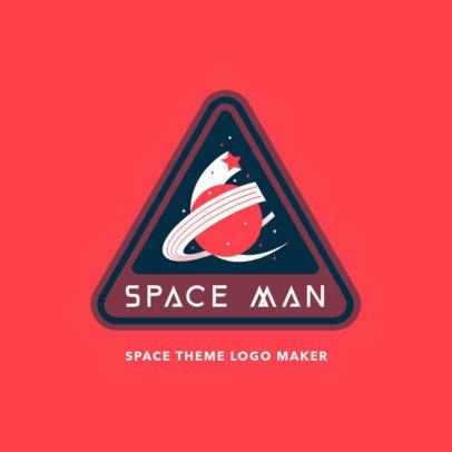 Retro Logo Creator Featuring a Planet Graphic 3451a