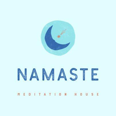 Online Logo Maker for a Meditation House 3464d