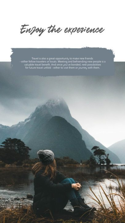 Instagram Story Design Template for Outdoor Enthusiasts 2491e-el1
