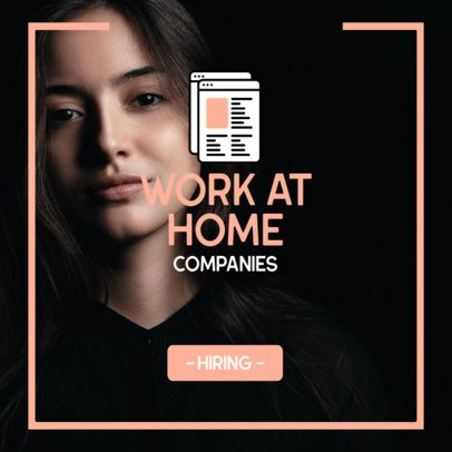 Ad Banner Design Maker for Home Office Job Offers 2900a