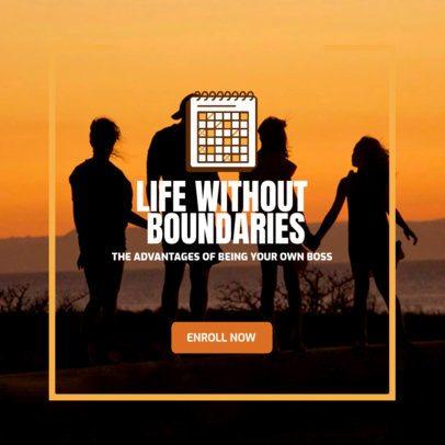Ad Banner Design Creator for a Multilevel Marketing Offer 2900b