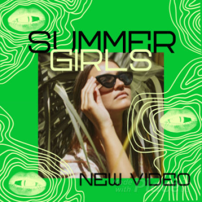 Instagram Video Creator for a Pop Music Artist Featuring an Anti-Design Style 2233