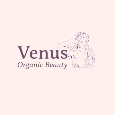 Beauty Logo Maker Featuring a Classical-Styled Illustration 3696w