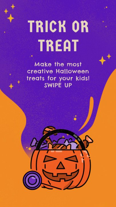 Instagram Story Creator for Halloween Treat Ideas 2928c-el1