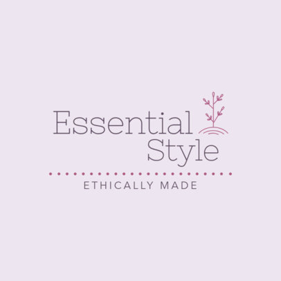 Logo Maker for a Clothing Brand with an Ethical Philosophy 3631e